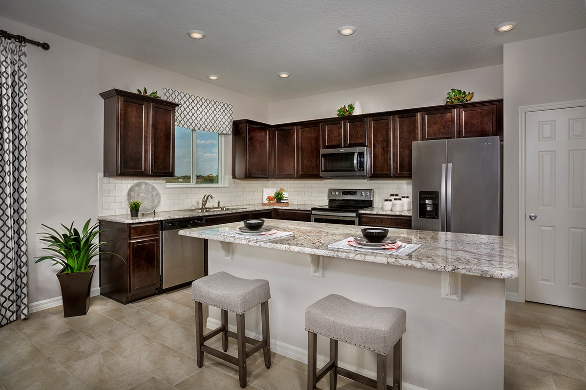 New Homes in Davenport, FL - Magnolia at Westside 2566 Kitchen