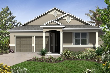 New Homes in Winter Garden, FL - Elevation E