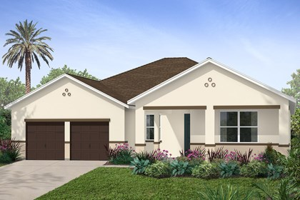 New Homes in Winter Garden, FL - Elevation A