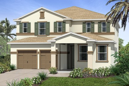 New Homes in Winter Garden, FL - Elevation B