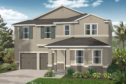 New Homes in Winter Garden, FL - Elevation C