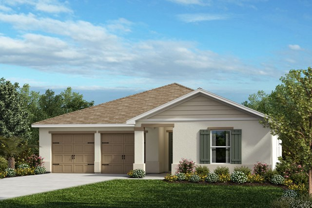New Homes in Winter Garden, FL - Elevation F