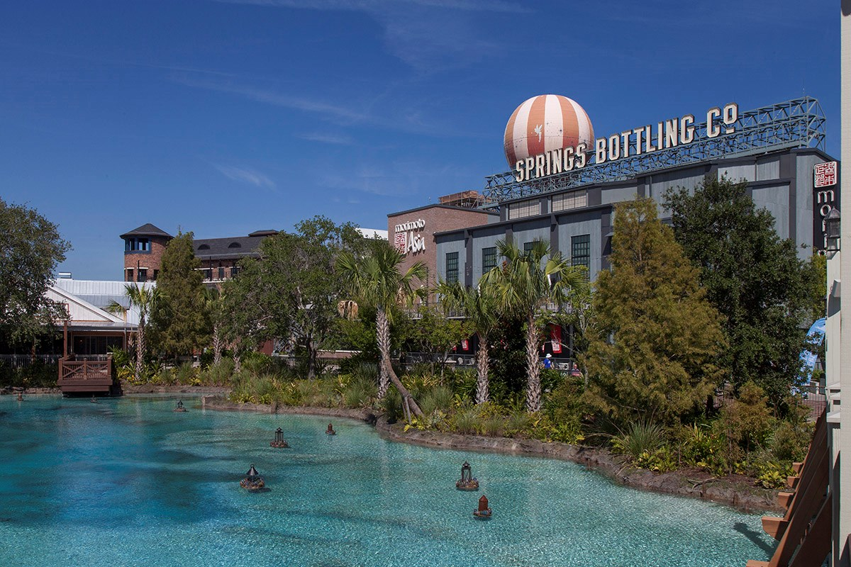 New Homes in Winter Garden, FL - Orchard Park Food and Entertainment at Disney Springs
