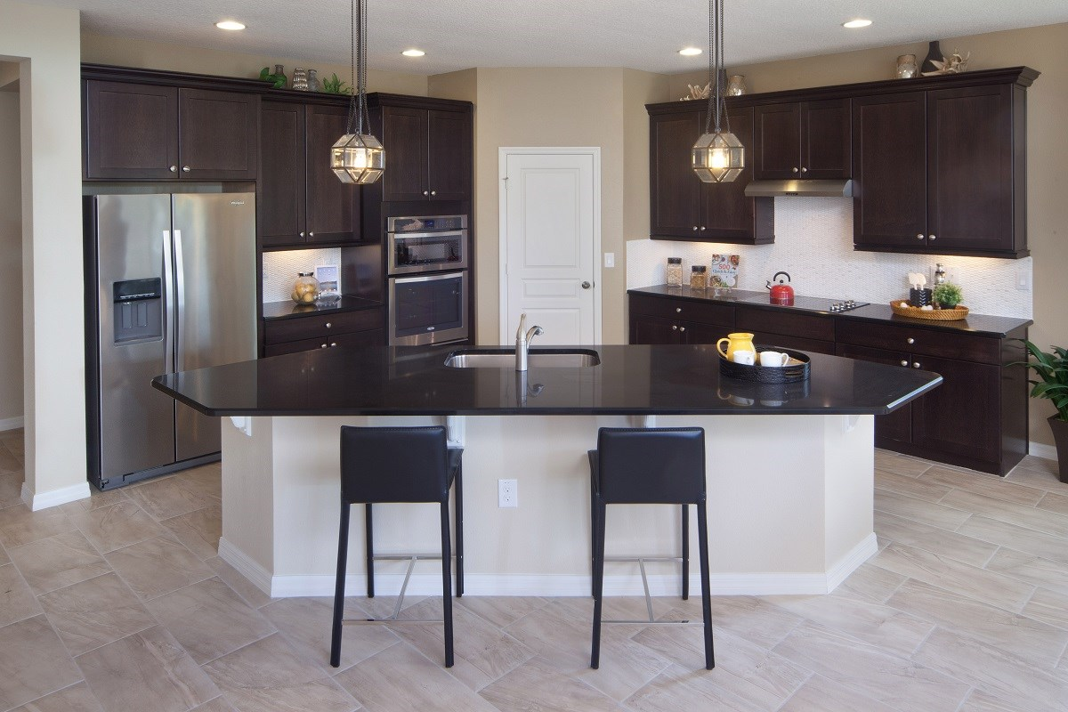 New Homes in Winter Garden, FL - Orchard Park 2127 Kitchen