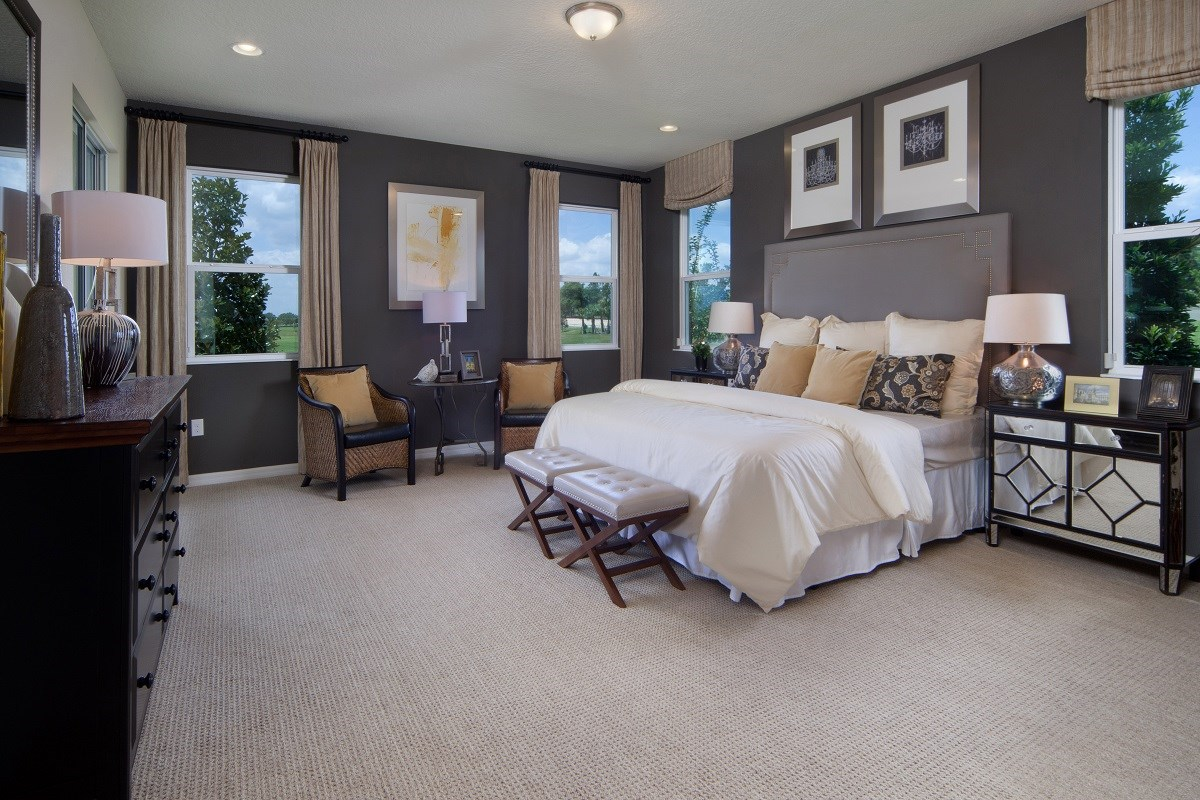 New Homes in Winter Garden, FL - Orchard Park 2127 Master Bedroom