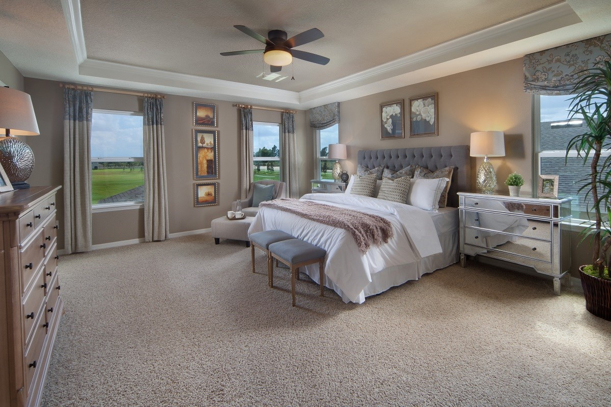 New Homes in Winter Garden, FL - Orchard Park 3737 Master Bedroom