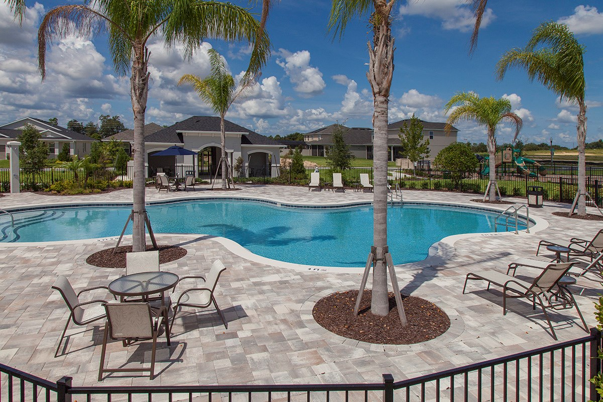 New Homes in Winter Garden, FL - Orchard Park Community Pool