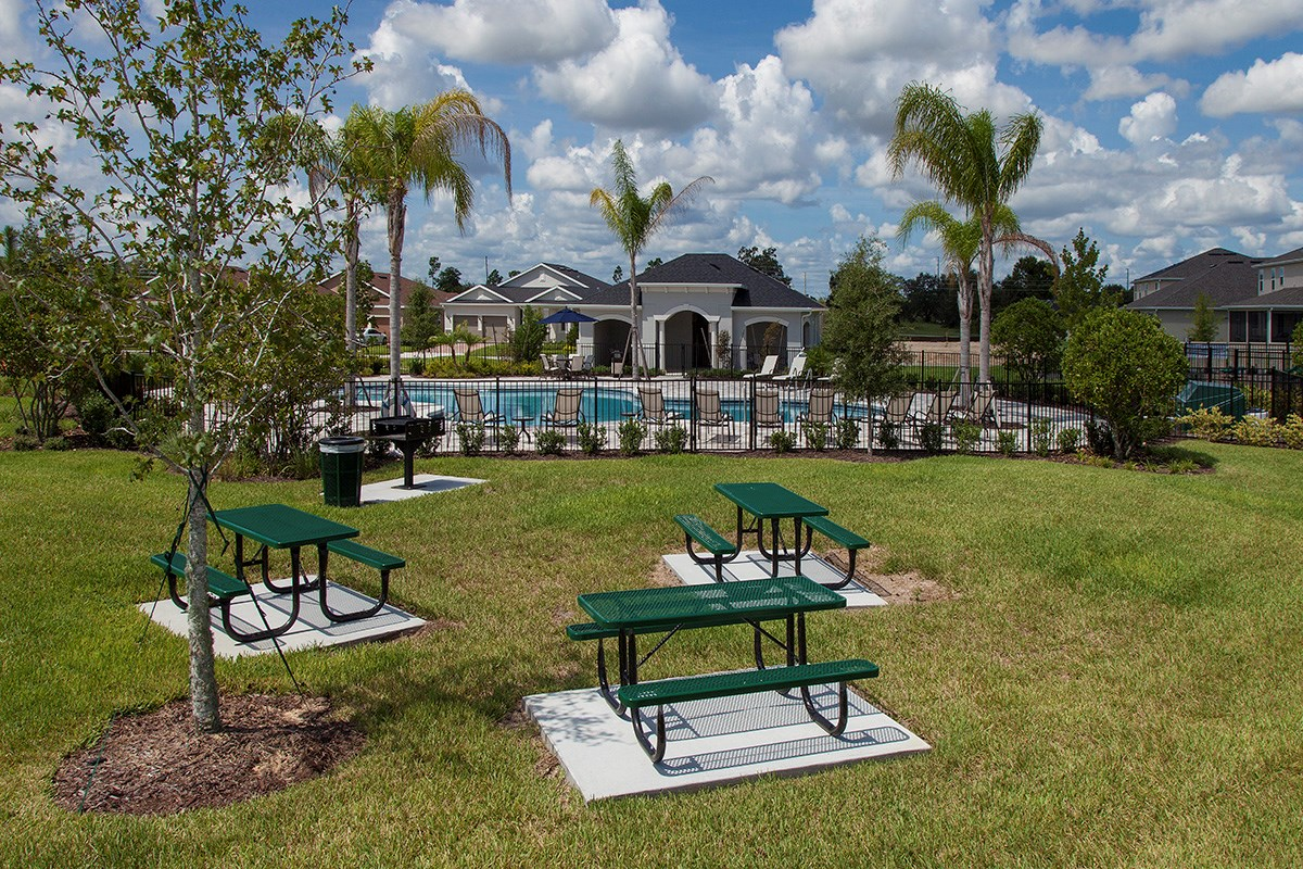 New Homes in Winter Garden, FL - Orchard Park Picnic Area
