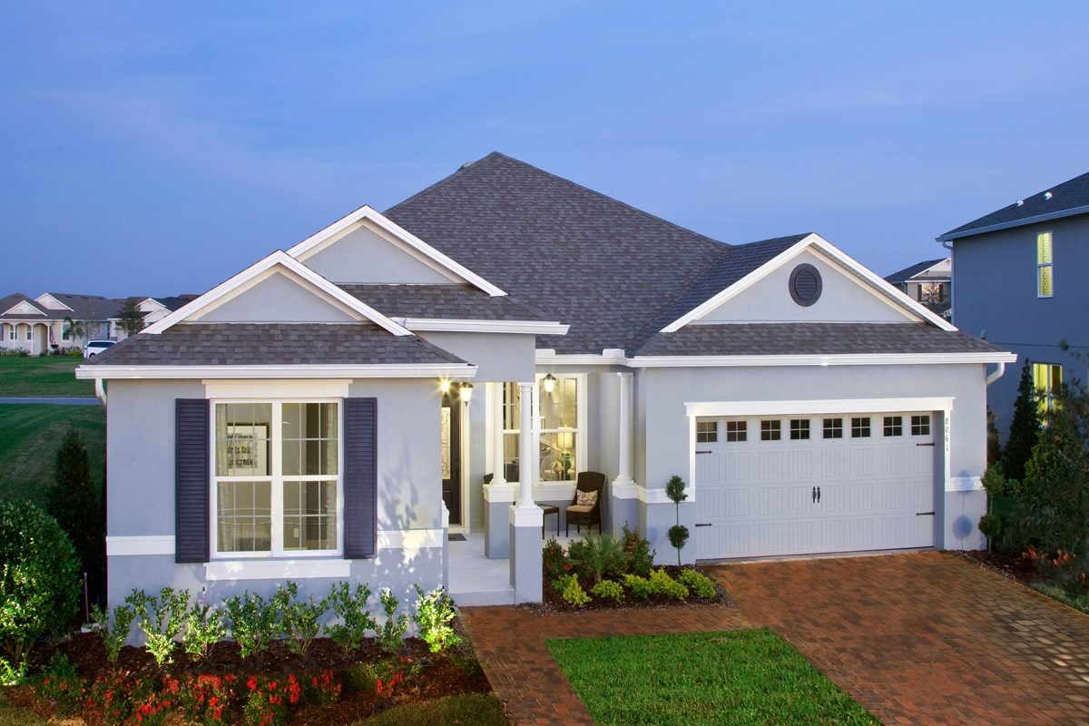 New Homes in Winter Garden, FL - Orchard Park Plan 2517 as Modeled at Summerlake