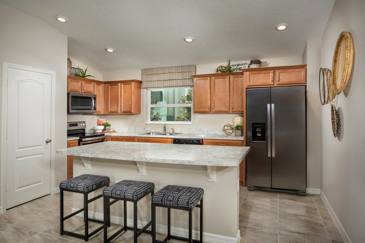 New Homes in Davenport, FL - Preservation Pointe 1511 Kitchen