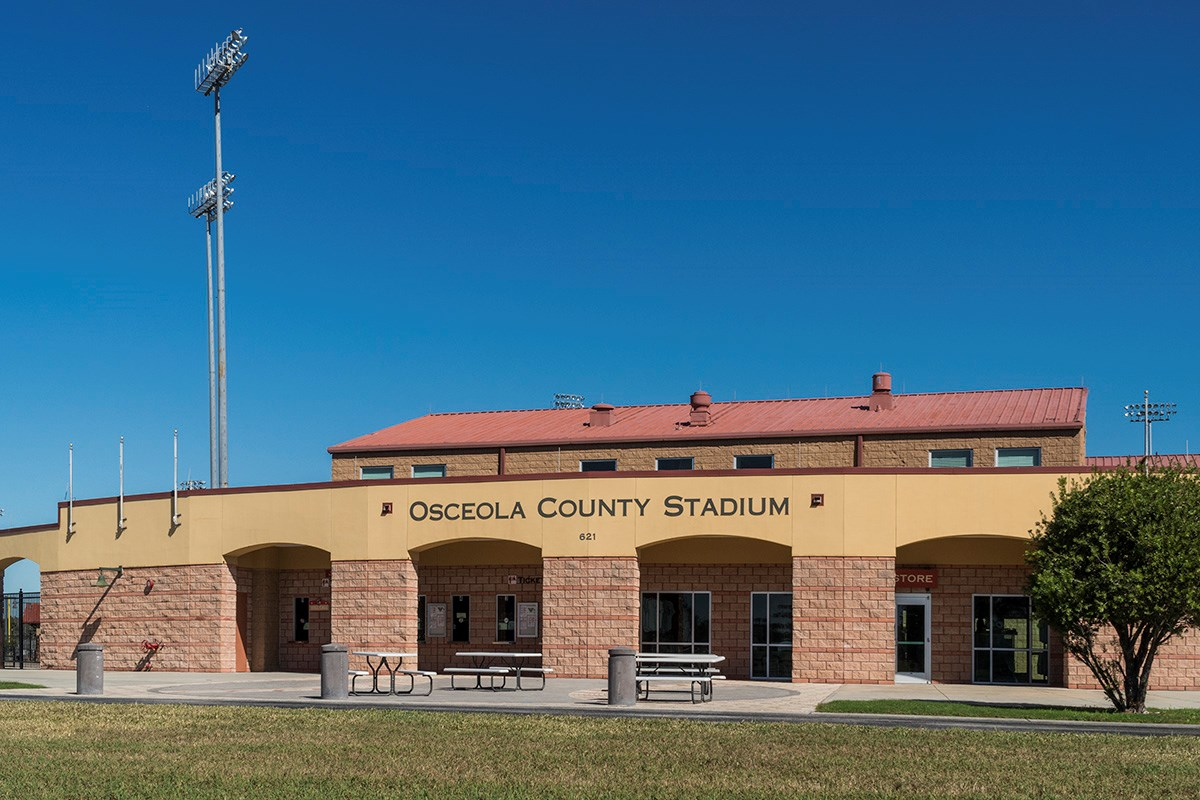 New Homes in St. Cloud , FL - Rivercrest at Narcoossee Osceola County Stadium at Osceola Heritage Park