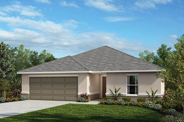 New Homes in St. Cloud , FL - Elevation A