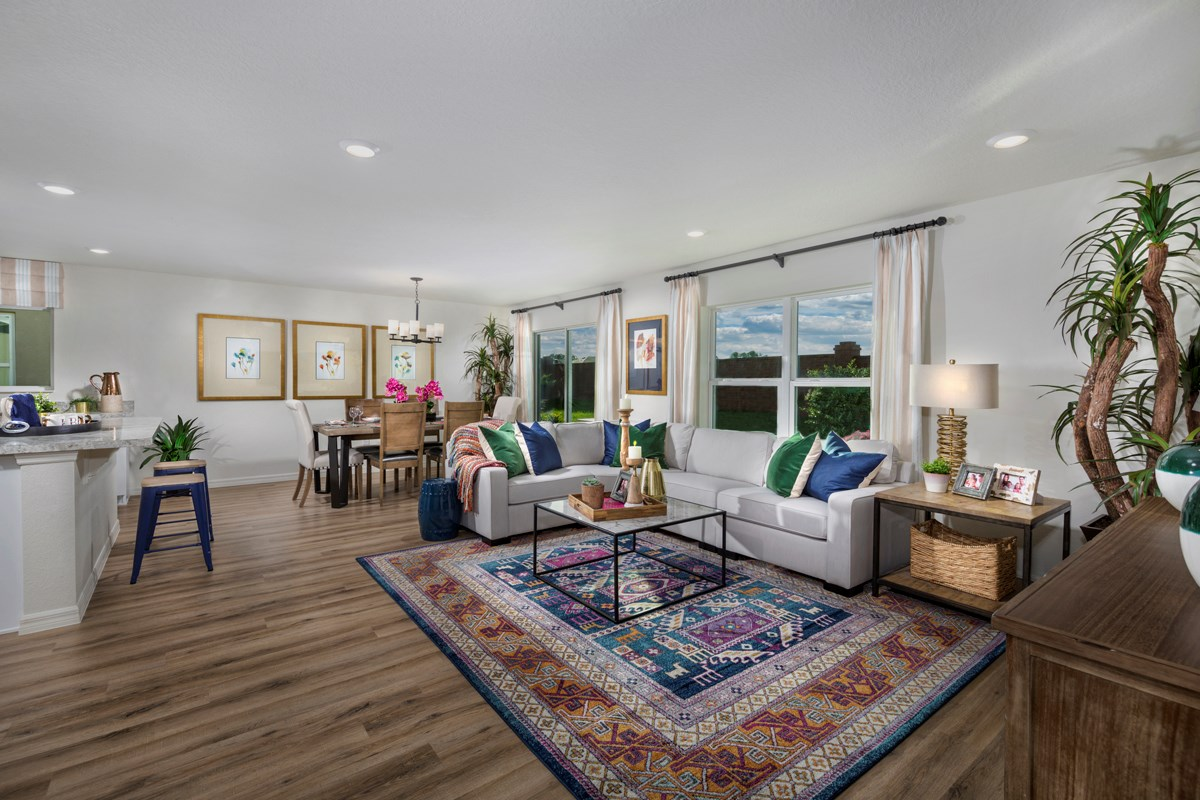 New Homes in Clermont, FL - Sawgrass Bay 1760 Great Room