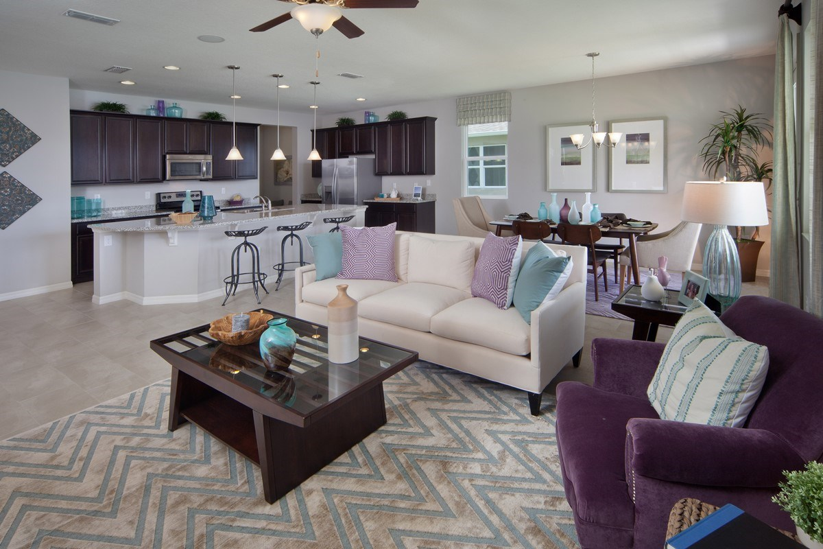 New Homes in Orlando, FL - Sawgrass Pointe 2034 Greatroom