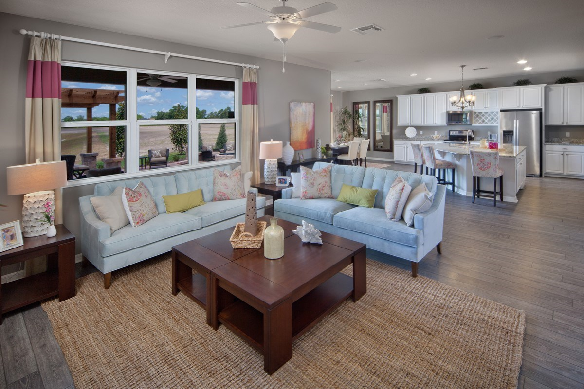 New Homes in Orlando, FL - Sawgrass Pointe 2843 Living Room