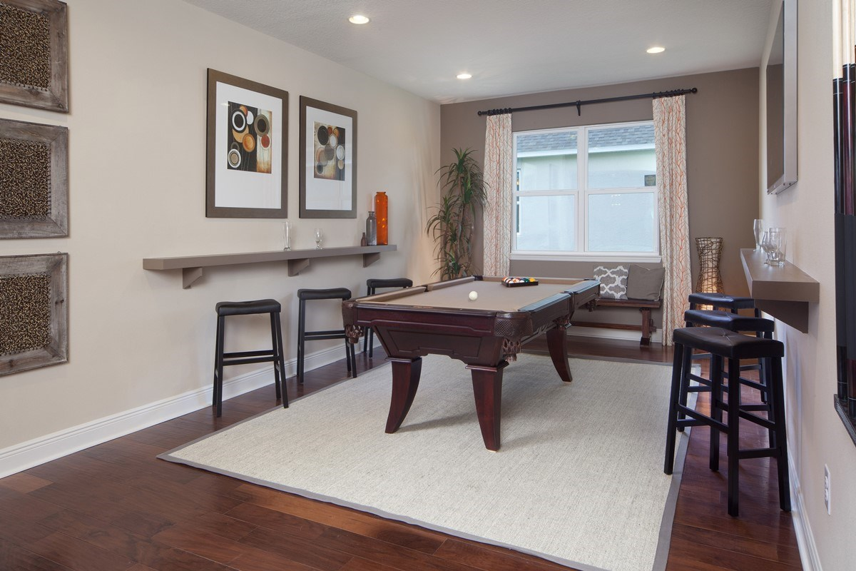 New Homes in Orlando, FL - Sawgrass Pointe II 2620 Flex Room
