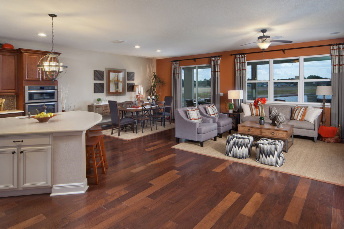 New Homes in Orlando, FL - Sawgrass Pointe II 2620 Great Room