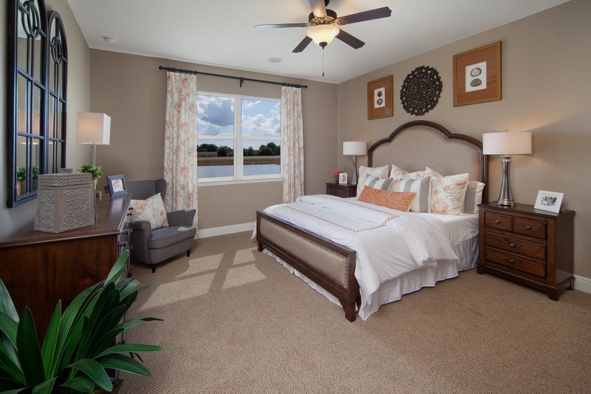 New Homes in Orlando, FL - Sawgrass Pointe II 2620 Master Bedroom