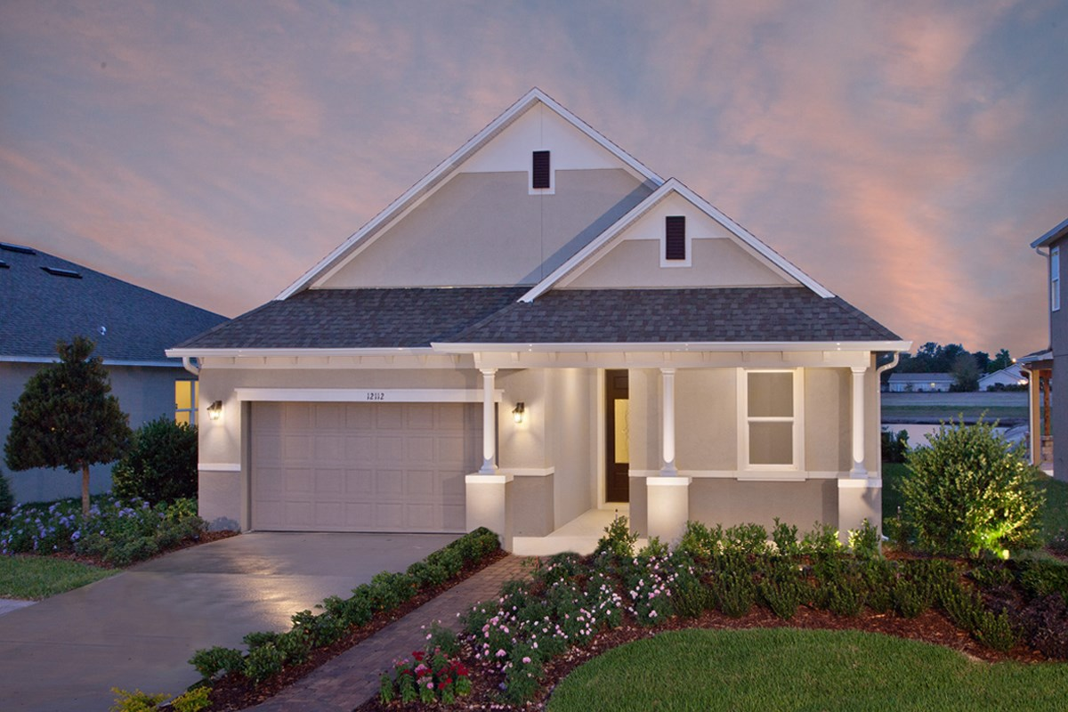 New Homes in Orlando, FL - Sawgrass Pointe 2034 Exterior