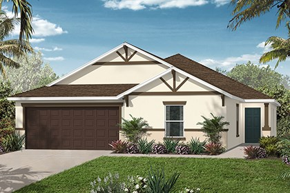 New Homes in Orlando, FL - Elevation B