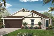 New Homes in Orlando, FL - Plan 2052
