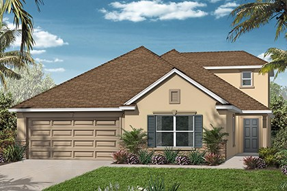 New Homes in Orlando, FL - Elevation C w/Bonus Room