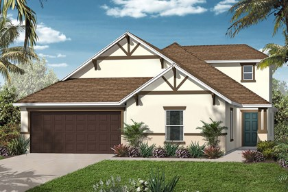 New Homes in Orlando, FL - Elevation B w/Bonus Room