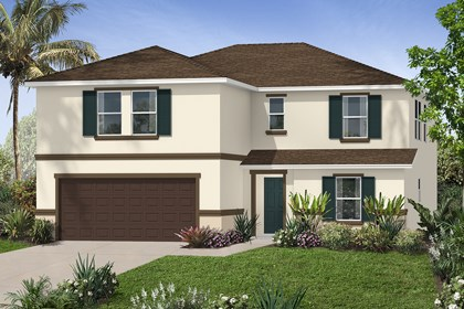 New Homes in Orlando, FL - Elevation A
