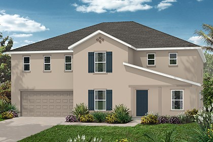 New Homes in Orlando, FL - Elevatoin A