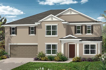 New Homes in Orlando, FL - Elevatoin C
