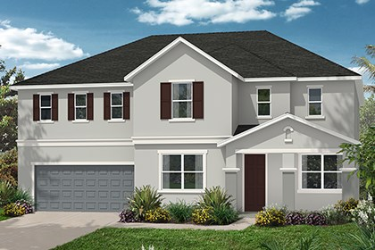 New Homes in Orlando, FL - Elevatoin D