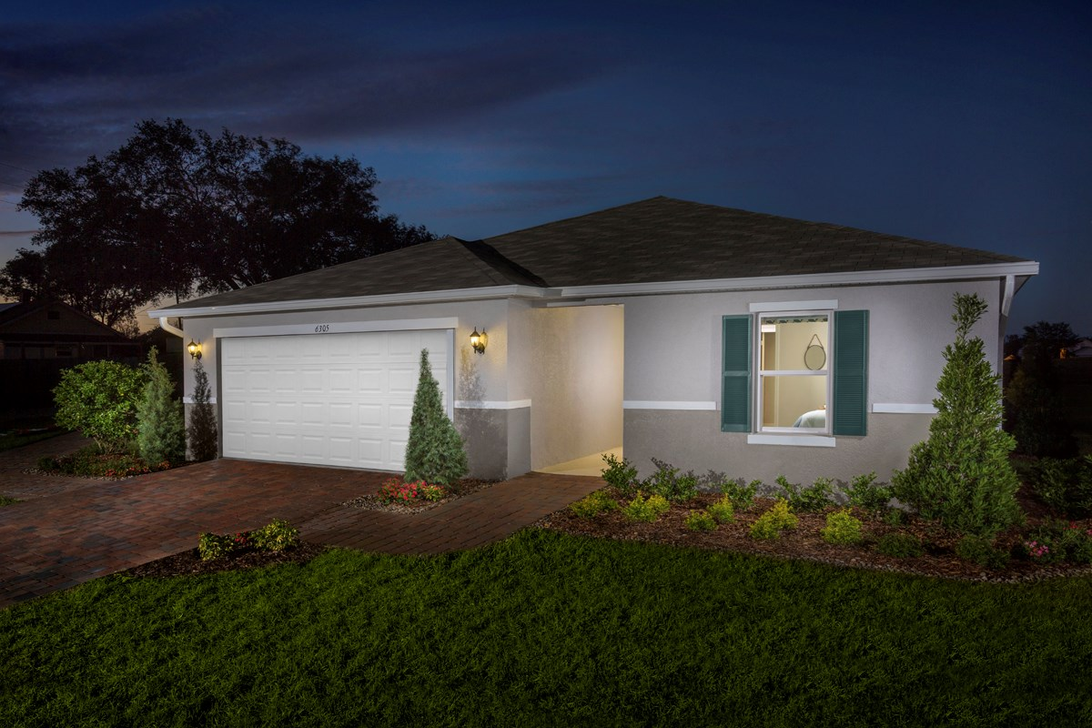 New Homes in Groveland, FL - Stewart Lake Preserve Plan 1707