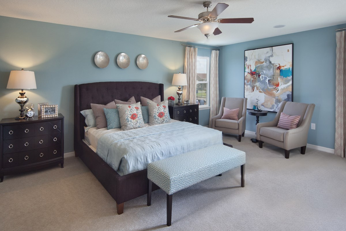 New Homes in Winter Garden, FL - Summerlake III 3009 Master Bedroom