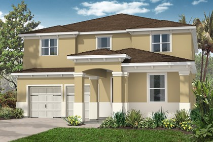 New Homes in Winter Garden, FL - Elevation D