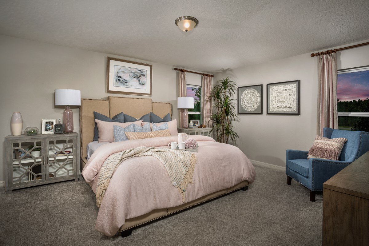 New Homes in Davenport, FL - Tivoli Reserve 1989 Master Bedroom
