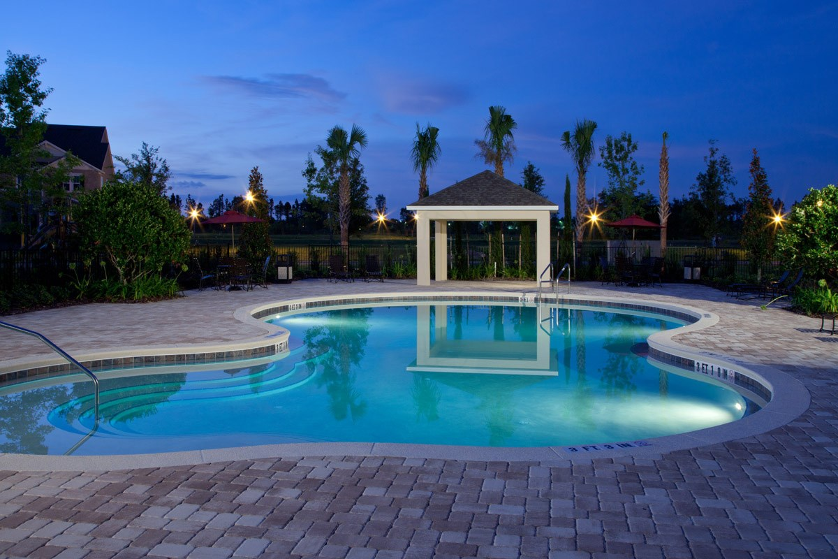 New Homes in Windermere, FL - Vineyard Square II Community Pool