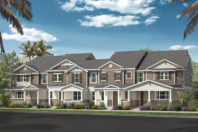 New Homes in Windermere, FL - Elevation F - Interior Unit