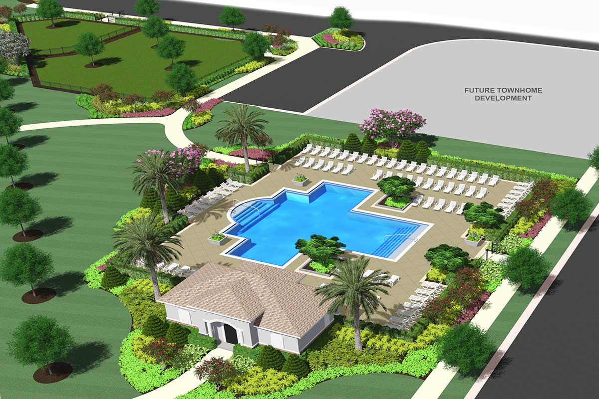 New Homes in Windermere, FL - Vineyard Square II New Amenity Coming Soon - Second Community Pool & Dog Park