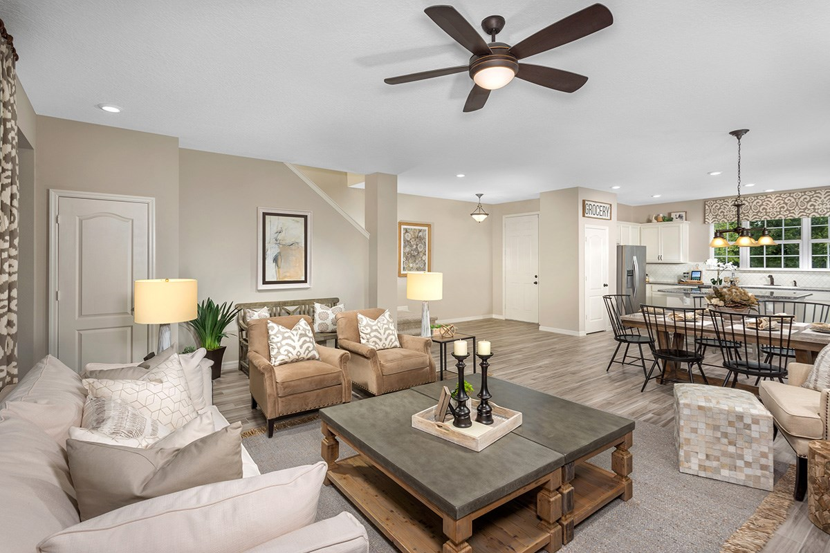 New Homes in Windermere, FL - Vineyard Square II 2091 Great Room