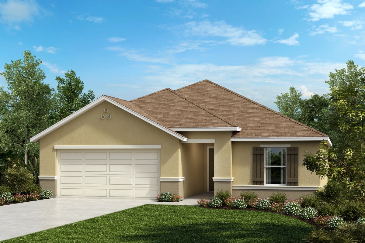 New Homes in West Melbourne, FL - Cypress Landings The Avondale Modeled