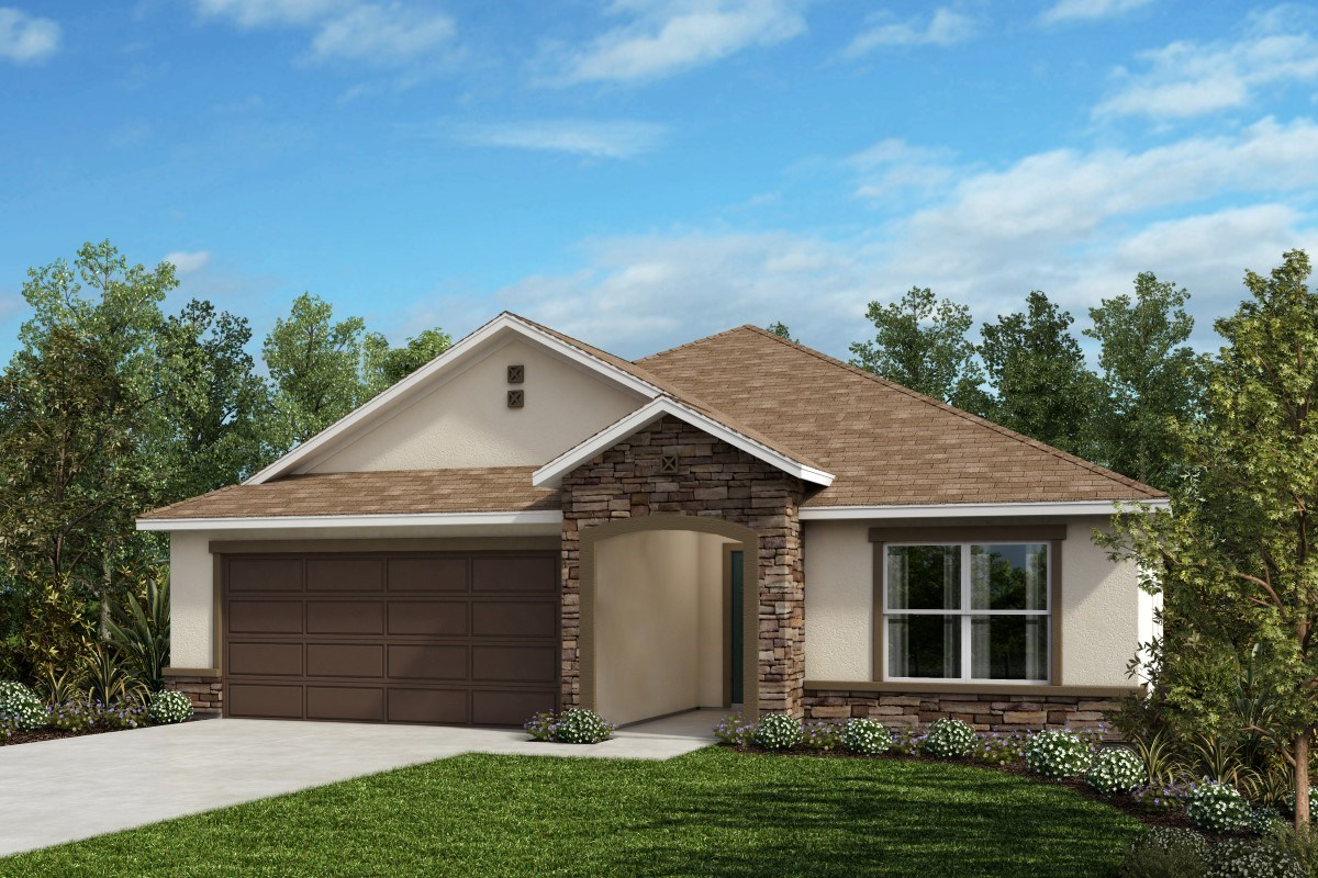 New Homes in West Melbourne, FL - Cypress Landings The Highland Modeled