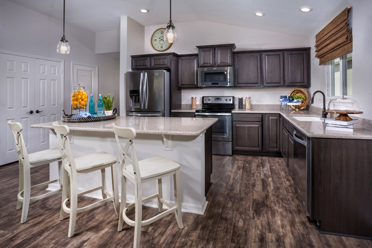 New Homes in West Melbourne, FL - Cypress Landings The Avondale Kitchen