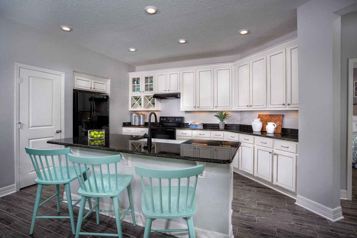 New Homes in West Melbourne, FL - Cypress Landings The Highland Kitchen