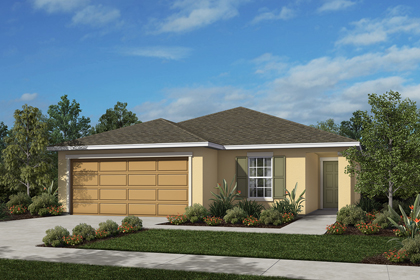 New Homes In Port St. Lucie, FL   Elevation A