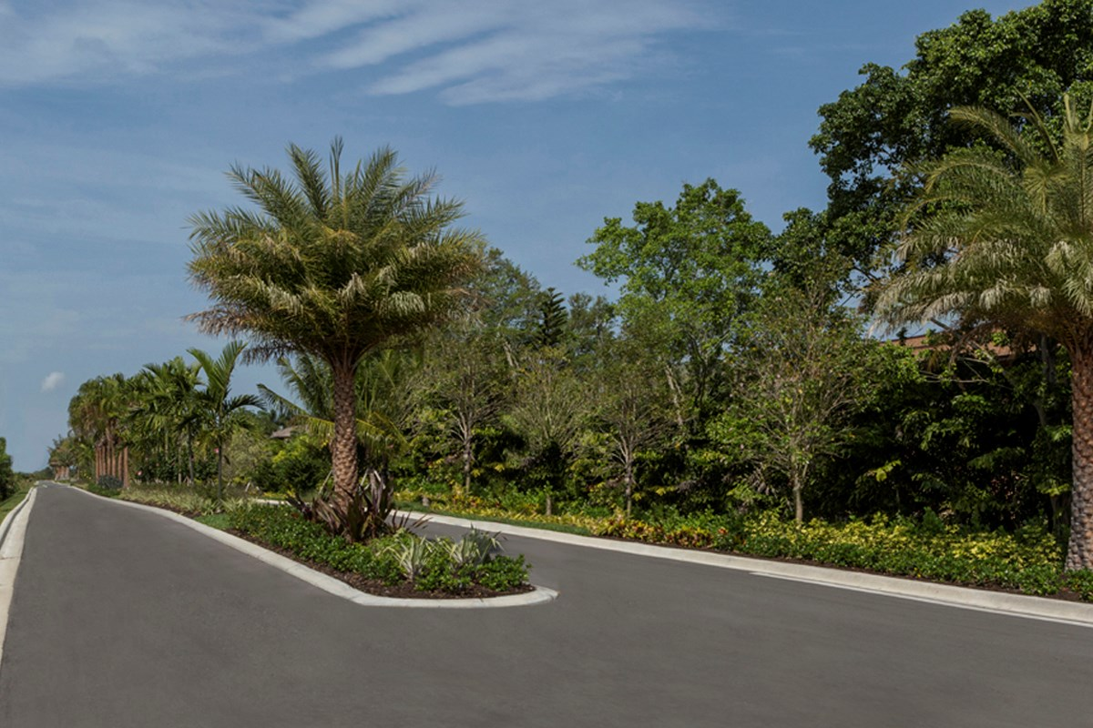New Homes in Fort Myers, FL - Coves of Estero Bay Community's Entrance