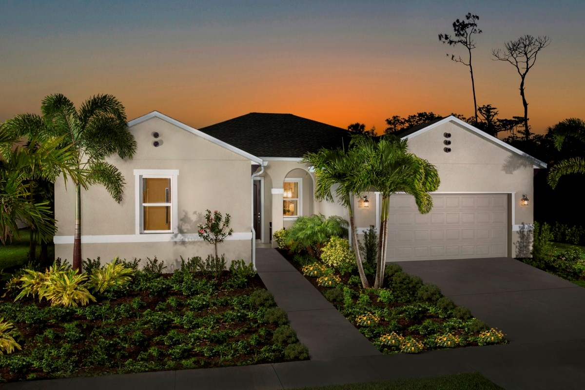 New Homes in Fort Myers, FL - Coves of Estero Bay Plan 2127 Exterior