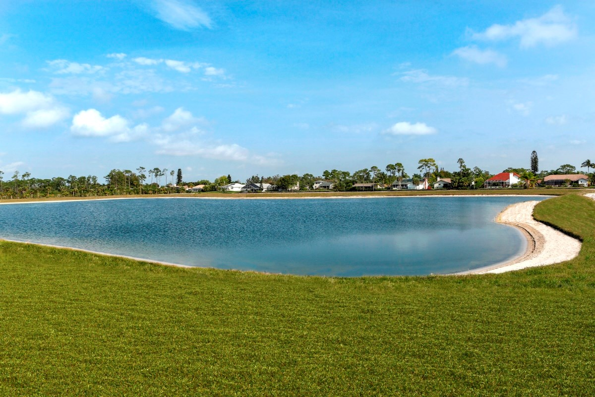 New Homes in Fort Myers, FL - Coves of Estero Bay Community's Lake View Homesites