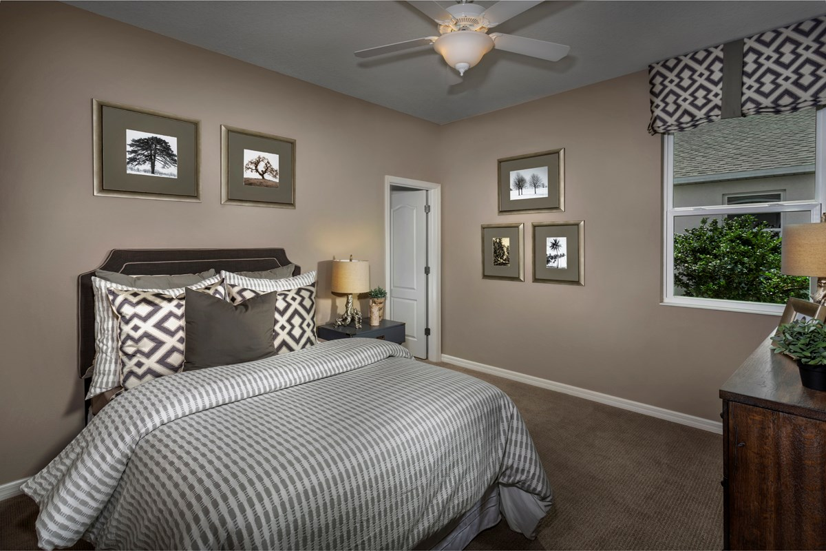 New Homes in Fort Myers, FL - Coves of Estero Bay Plan 2127 Secondary Bedroom