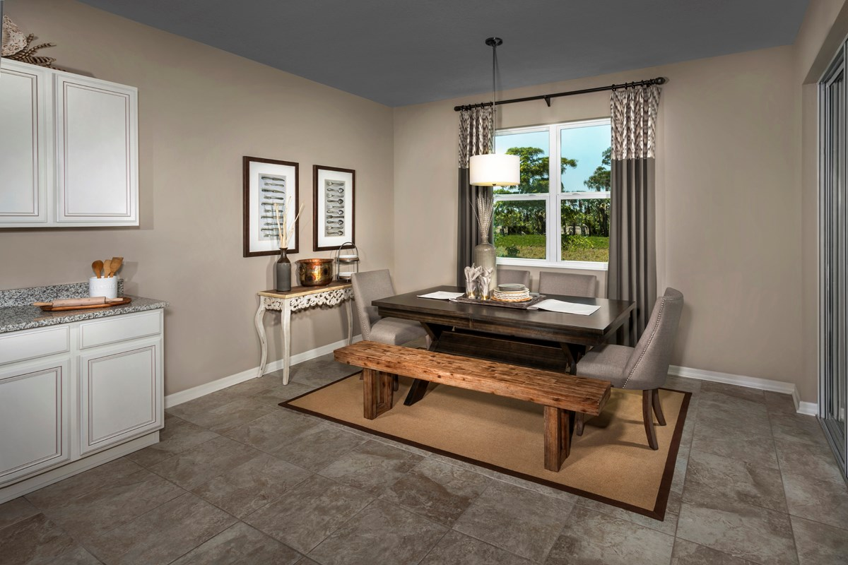New Homes in Fort Myers, FL - Coves of Estero Bay Plan 2127 Nook Extension