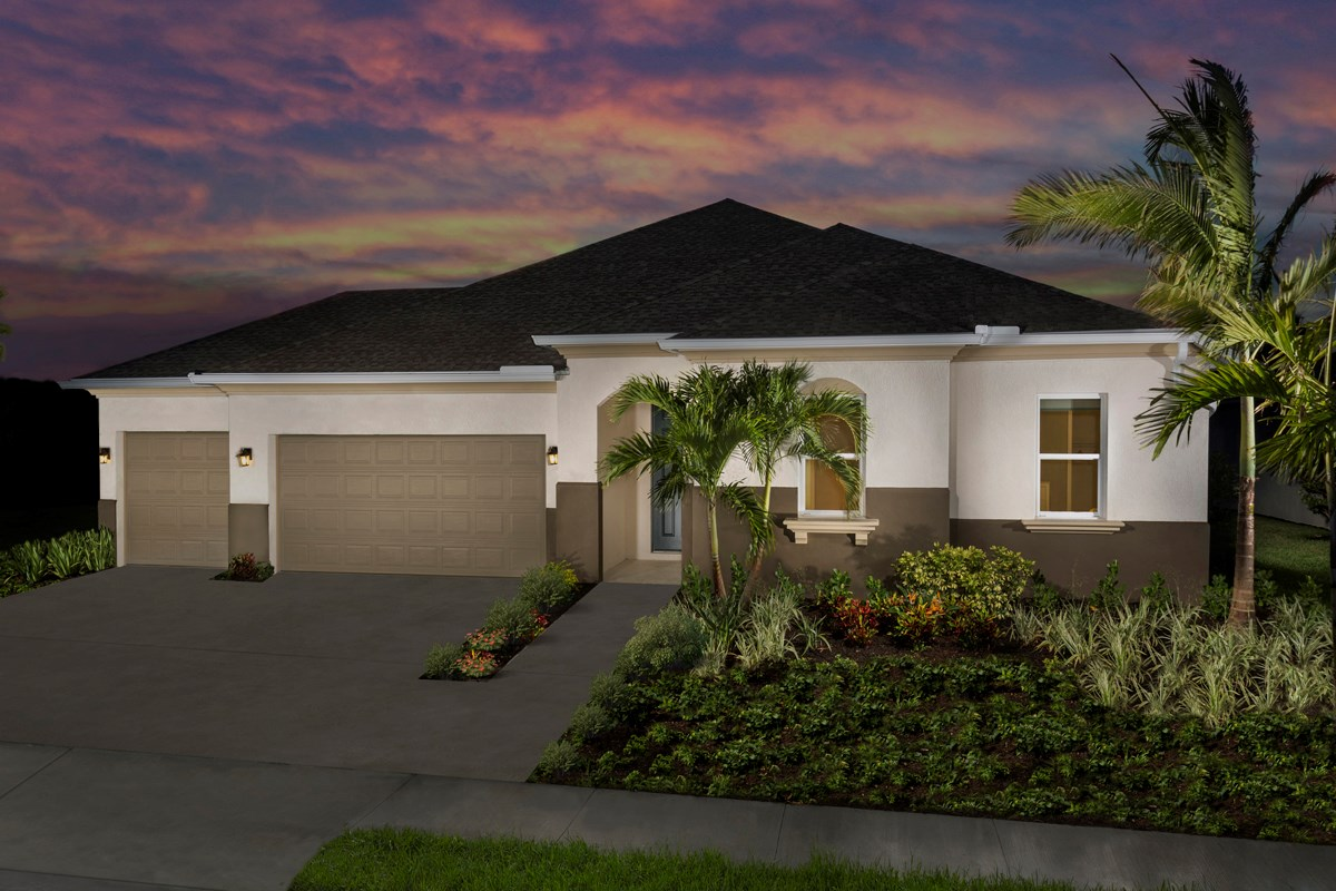 New Homes in Fort Myers, FL - Coves of Estero Bay Plan 2609 Exterior